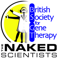 Podcast cover art for Naked Gene Therapy