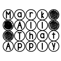 Mark All That Apply podcast