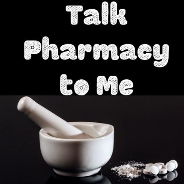 Talk Pharmacy to Me banner backdrop