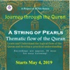 A string of pearl -- The thematic flow of The Quran