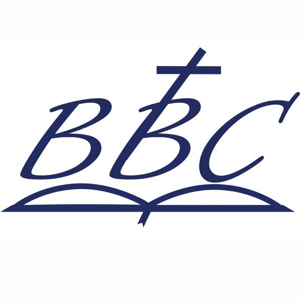 Bible Baptist Church banner backdrop