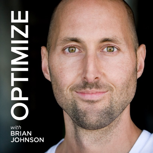 Cover image of OPTIMIZE with Brian Johnson | More Wisdom in Less Time