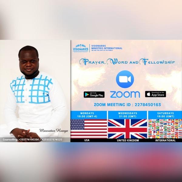 Zoom Meetings with Mawutor Honya