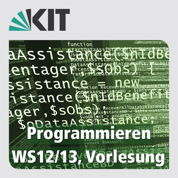 Programmieren, WS12/13, Vorlesung