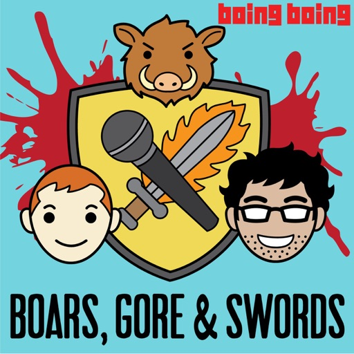 Cover image of Boars, Gore, and Swords: A Game of Thrones Podcast