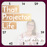 Podcast cover art for That Projector Life