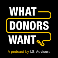 What Donors Want podcast