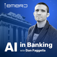 Podcast cover art of AI in Banking Podcast