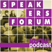 Podcast cover art for Speakers Forum