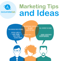 Marketing Tips from Accurate List Inc. podcast