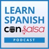 Learn Spanish Con Salsa | Weekly conversations and Spanish lessons with Latin music artwork
