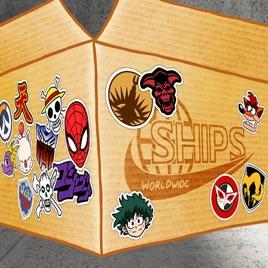 Ships Worldwide: Ships Worldwide – Parcel 21: Power Rangers