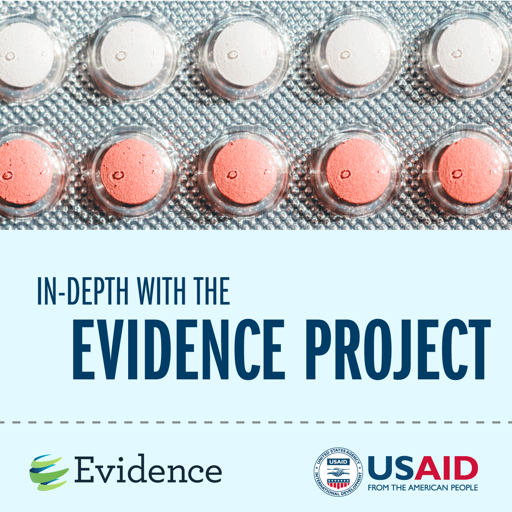 Cover image of In-depth with the Evidence Project