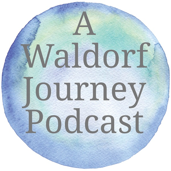 A Waldorf Journey Podcast banner backdrop
