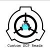 Custom SCP Reads artwork