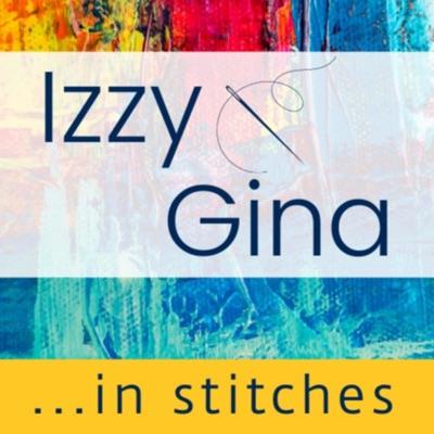 Izzy & Gina in stitches:Isobel Moore & Gina Ferrari
