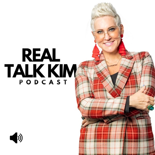 Real Talk Kim banner backdrop