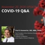 UPDATE 11/20/2020 COVID-19 Q&A
