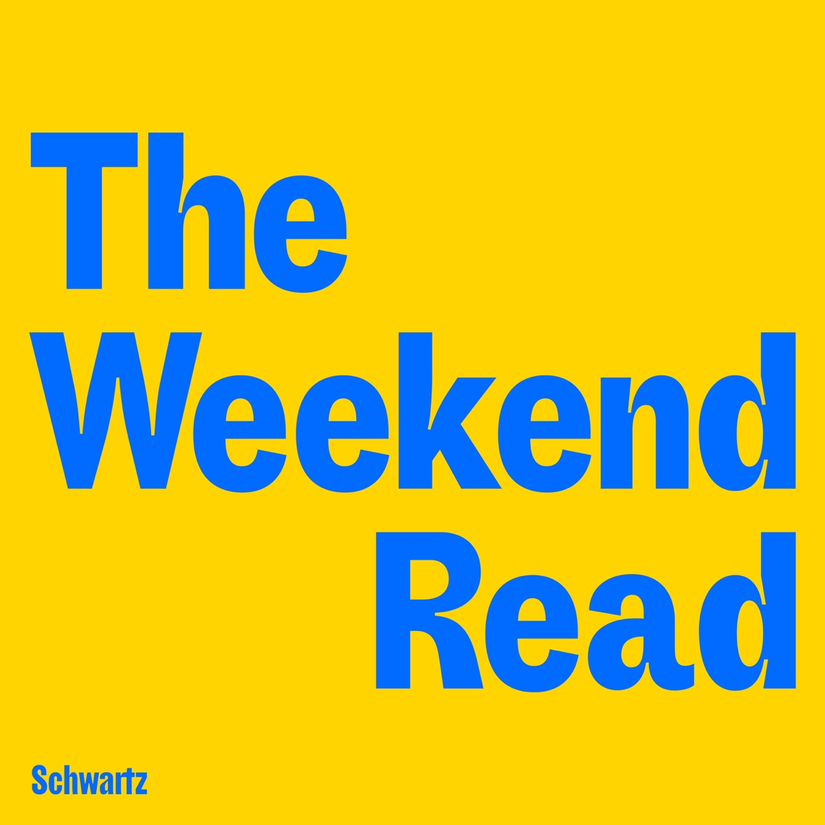 The Weekend Read
