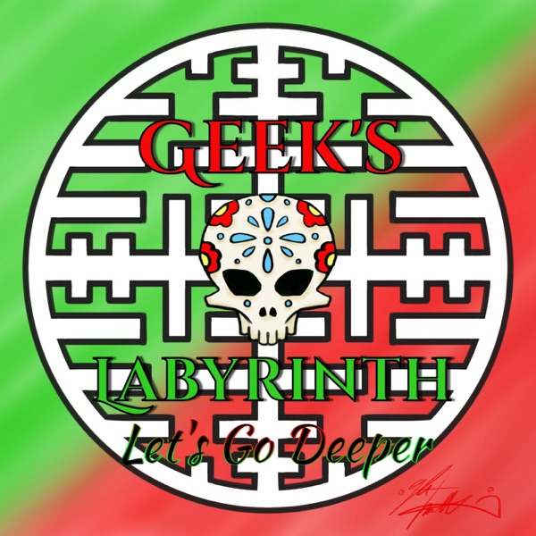 Geek's Labyrinth banner backdrop