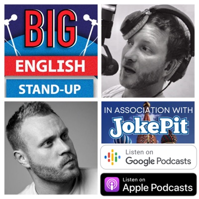 The Big English Stand-up Show:Illuminating the secret laws of human nature -  Join Moscow Comedian Steve Foreman and guests for funny chat about life  in modern-day Moscow and beyond. WE'RE HERE TO HELP! ...even if our help isn't wanted or indeed needed.