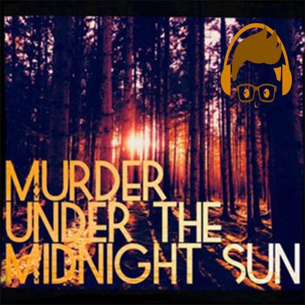 Murder under the Midnight Sun banner backdrop