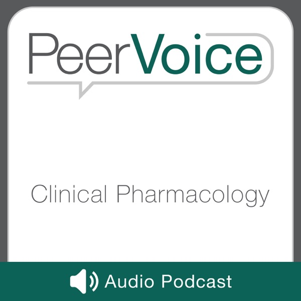 PeerVoice Clinical Pharmacology Audio Artwork