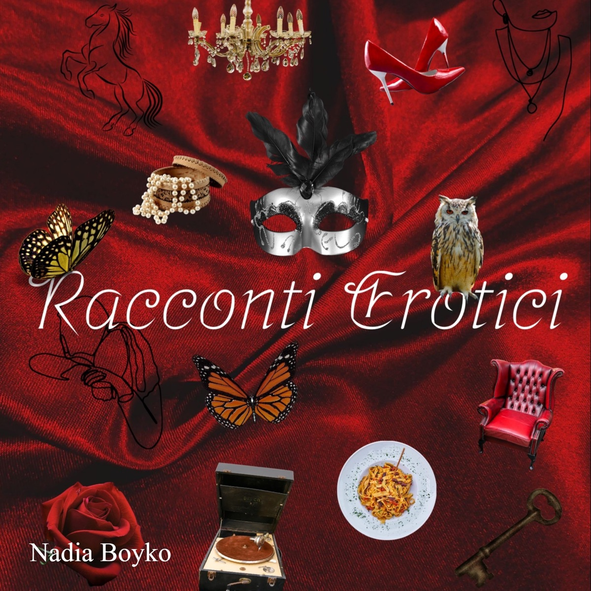 Racconti erotici, scritti e narrati da Nadia Boyko/ Erotic short stories in Italian, written and narrated by Nadia Boyko