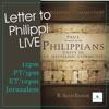 Letter to Philippi LIVE artwork