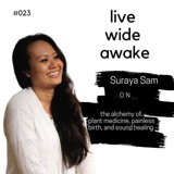 23. Suraya Sam: on the alchemy of plant medicine, painless birth, and sound healing