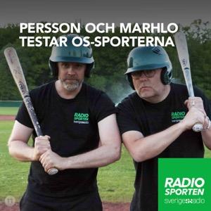 Persson och Marhlo testar OS-sporterna