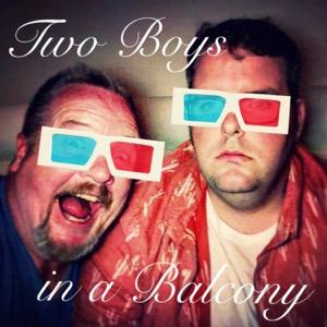 Two Boys in a Balcony