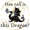 How tall is this Dragon? artwork