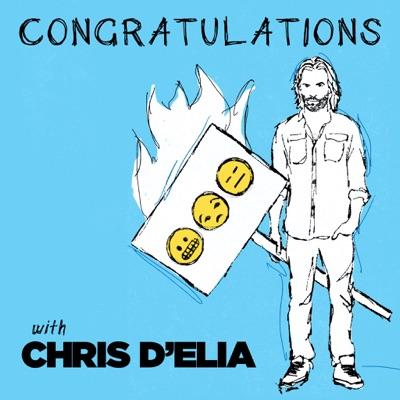 Congratulations with Chris D'Elia:Chris D'Elia