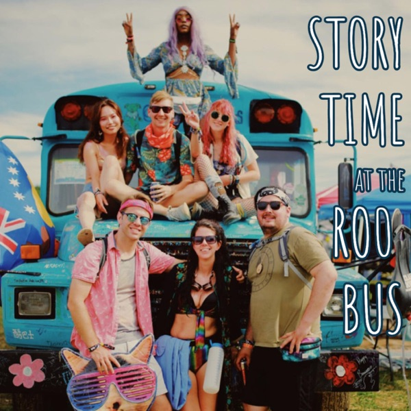 Story Time at the Roo Bus Artwork