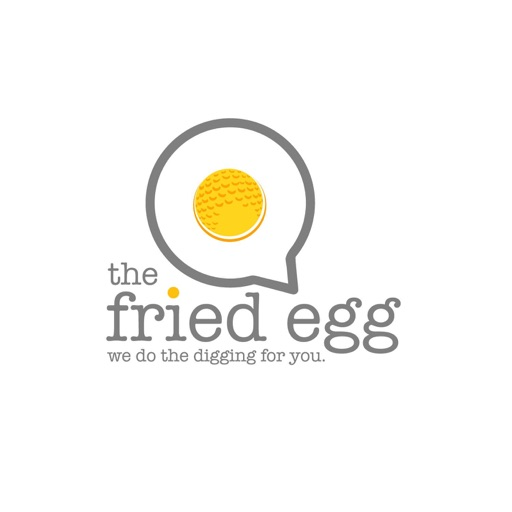Cover image of the fried egg golf podcast