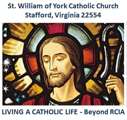 "St. William of York Catholic Church ""Beyond RCIA"""