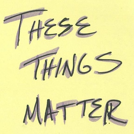 Cover image of These Things Matter Podcast