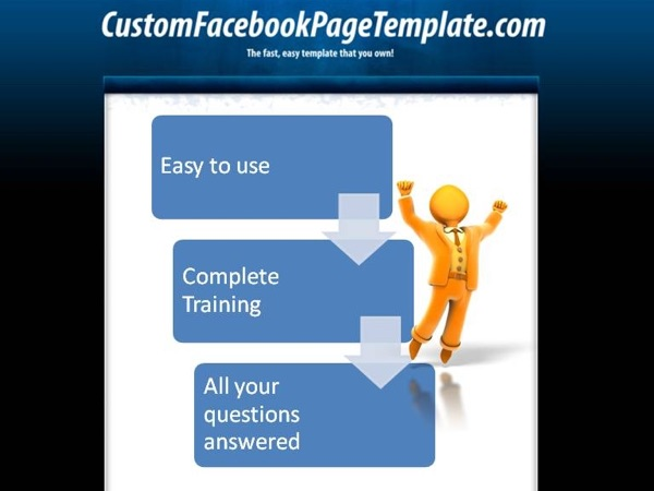 Custom Facebook Pages Template Blog