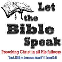 Sermons – Let the Bible Speak New Zealand