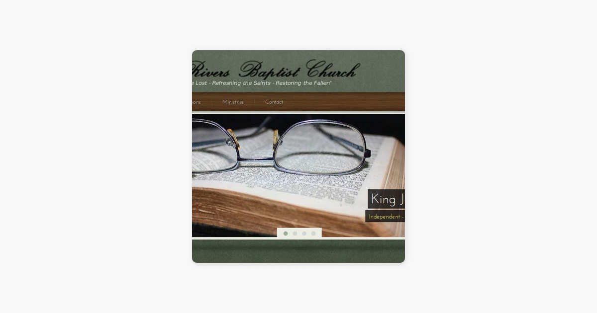Twin Rivers Baptist Church on Apple Podcasts