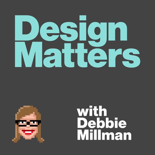 Cover image of Design Matters with Debbie Millman