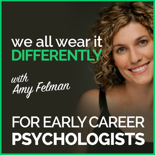 Cover image of We All Wear It Differently - A Podcast for Early Career Psychologists