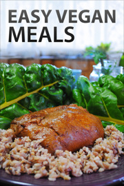 Easy Vegan Meals book