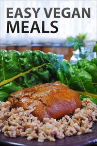 Easy Vegan Meals Book Review