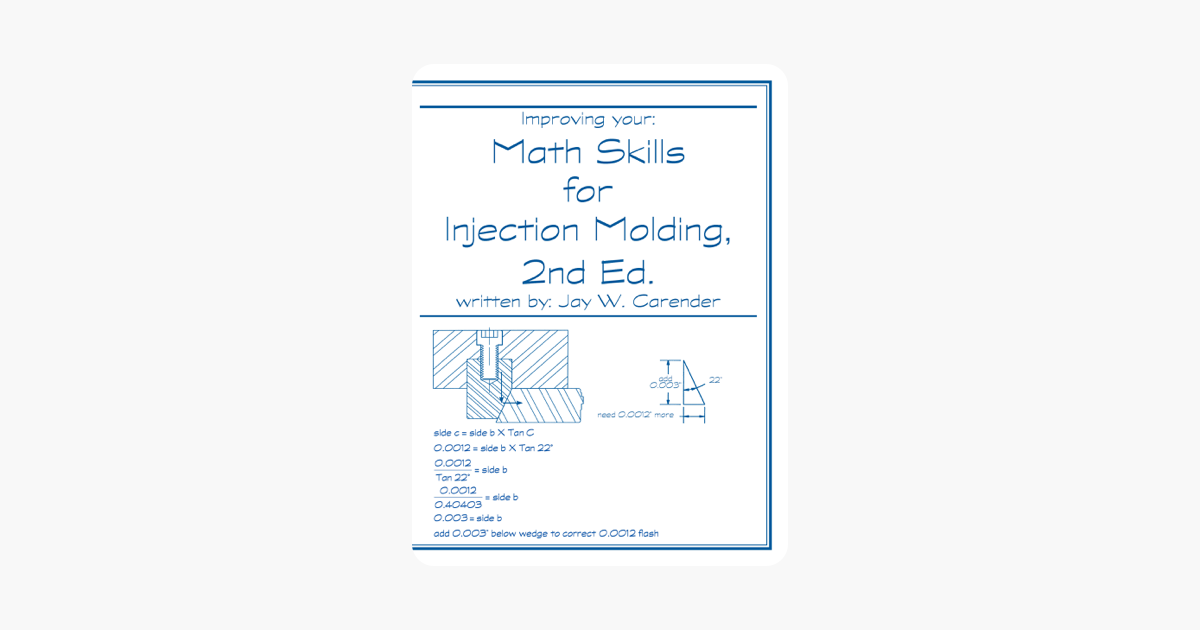 ‎Math Skills for Injection Molding, 2nd Ed