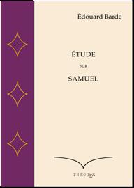 Étude sur Samuel
