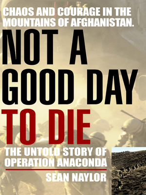 Not a Good Day to Die - Sean Naylor book