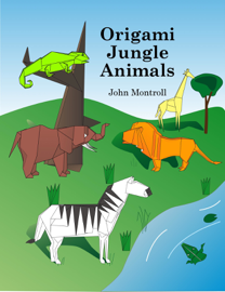 Origami Jungle Animals book