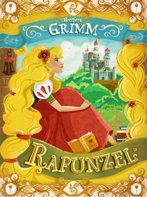 Rapunzel - The Brothers Grimm book